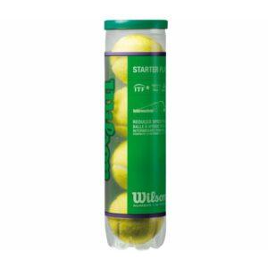 Wilson Stage 1 Starter Play 4st. tennisballen geel -
