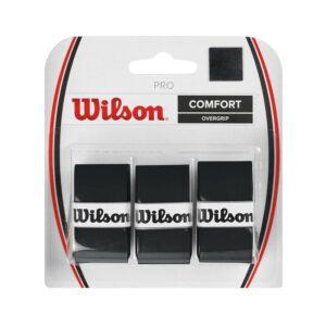 Wilson Pro Comfort overgrip 3 stuks zwart -
